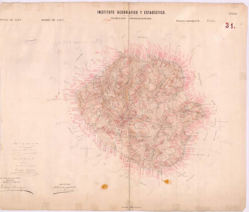 Ayuntamiento y Parque Multiaventura | Mapa Antiguo Frailes | Free Tour En Tu Mano | Frailes