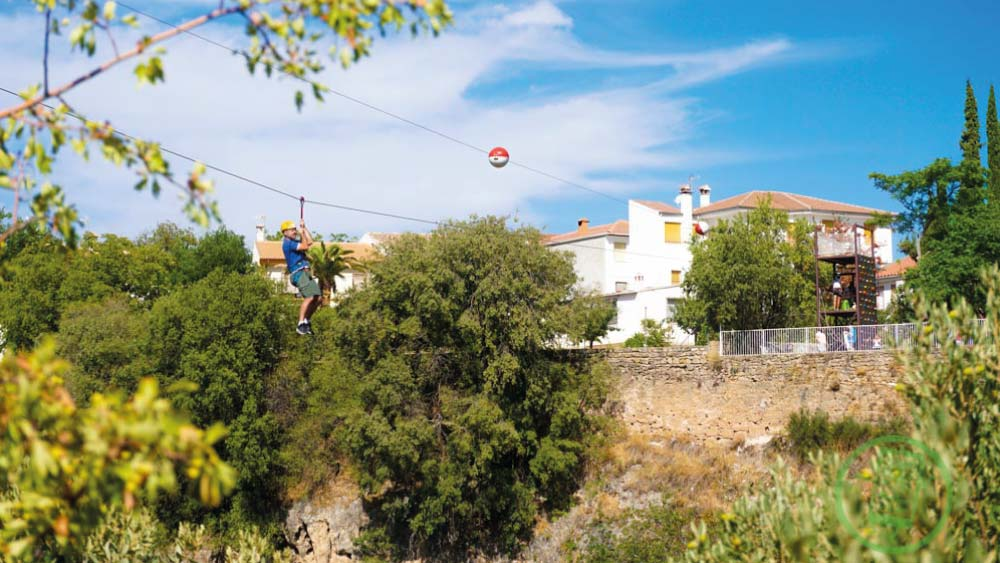 Ayuntamiento y Parque Multiaventura | Tirolina | Free Tour En Tu Mano | Frailes