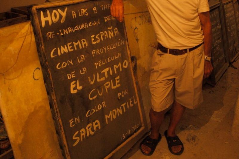 Cinema España | Cartel de 'El último cuplé'