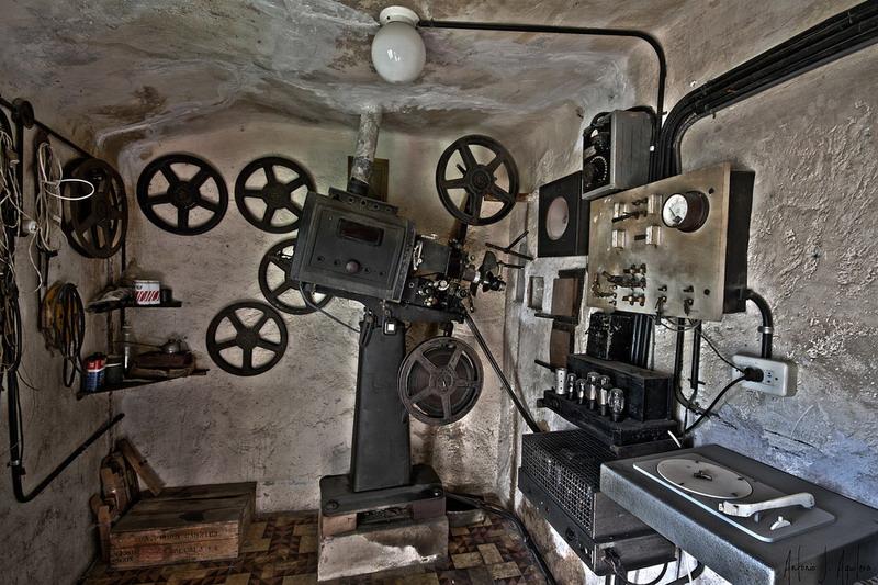 Cinema España | Cabina de proyección