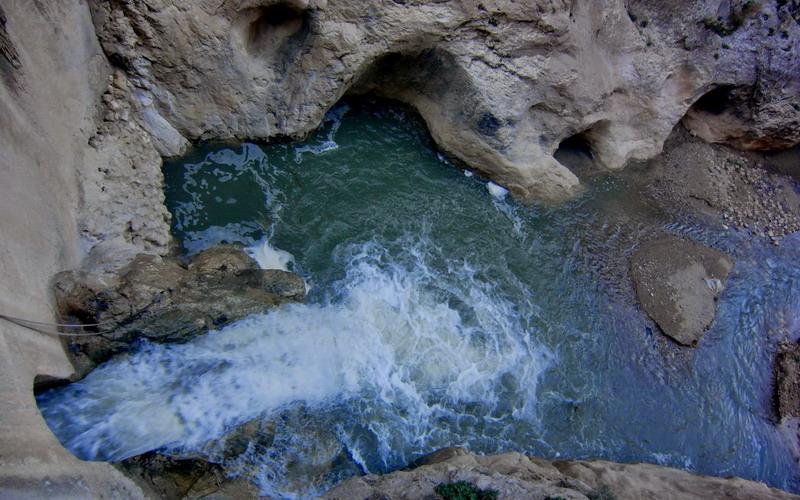 Los ríos | Cauce río Frailes o Velillos