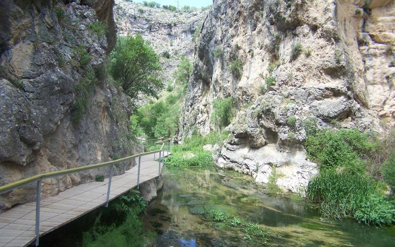 Los ríos | Cañón río Frailes o Velillos