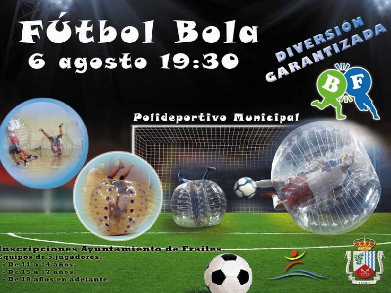 Novedoso partido de fútbol - Buble