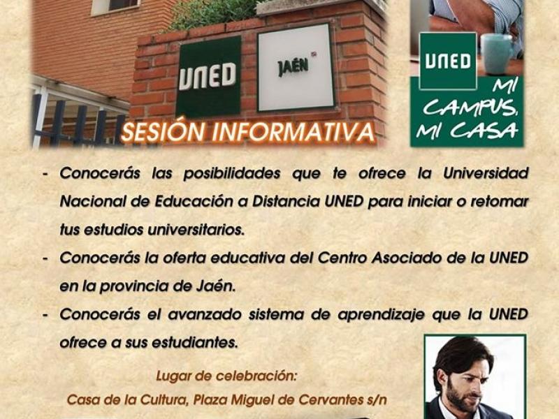 Sesión informativa sobre la UNED (Universidad a Distancia)