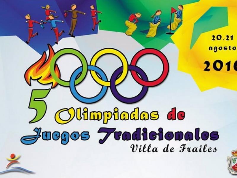 V Olimpiadas de Juegos Tradicionales de la Villa de Frailes