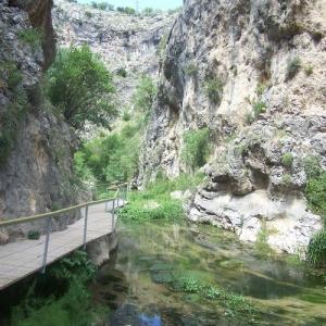 Entorno Natural de Frailes | Río Frailes o Velillos | Cañón