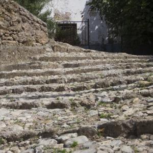 Urbanismo de Frailes | Calle Caridad | Escalerillas de los Muertos